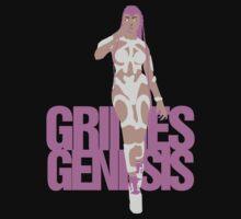 Grimes Genesis Tee by KevinFlynn