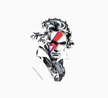 Beethoven David Bowie face paint Unisex T-Shirt