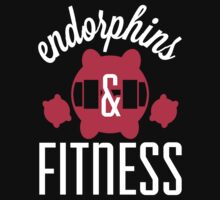 Endorphins & Fitness - Women's Workout Shirt by printproxy