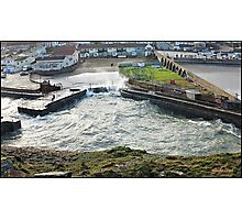 """"""" The advancing Tide brings with it more flooding misery"""" Photographic Print"""