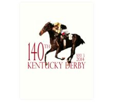 Kentucky Derby 2014 Art Print
