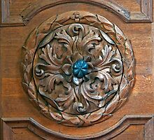 Carved Door Ringer by phil decocco