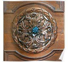 Carved Door Ringer Poster