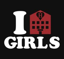 I Love Hotel Girls by tinybiscuits