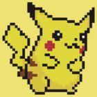 Pixel Pikachu by Red-Requiem