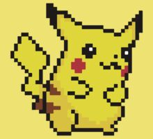 Pixel Pikachu by Red-Requiem