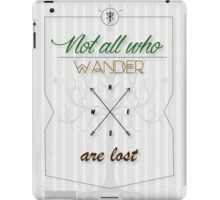 Tolkien Aragorn Quote iPad Case/Skin