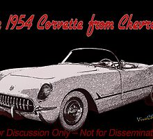 53 - 54 Corvette Three-Quarter Front Discussion Only Not For Dissemination by ChasSinklier