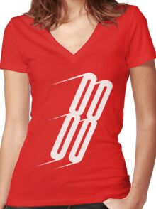 Rocket 88 Women's Fitted V-Neck T-Shirt