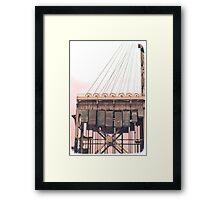 Armour-Swift-Burlington Bridge Framed Print