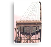 Armour-Swift-Burlington Bridge Canvas Print