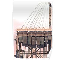 Armour-Swift-Burlington Bridge Poster