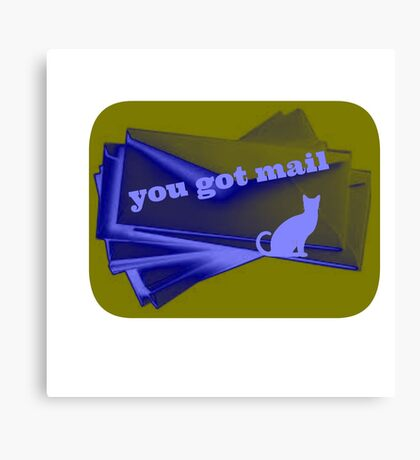 you got mail Canvas Print