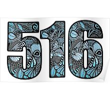 516 Doodle Poster