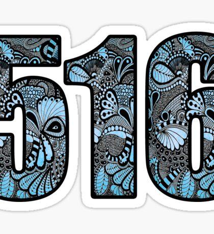 516 Doodle Sticker