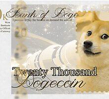 Twenty Thousand Dogecoin by DetectiveBerry