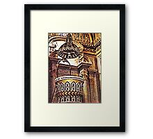 ©MS Pulpito IA Framed Print