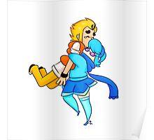 Vivi & Arthur Smol Hug Poster