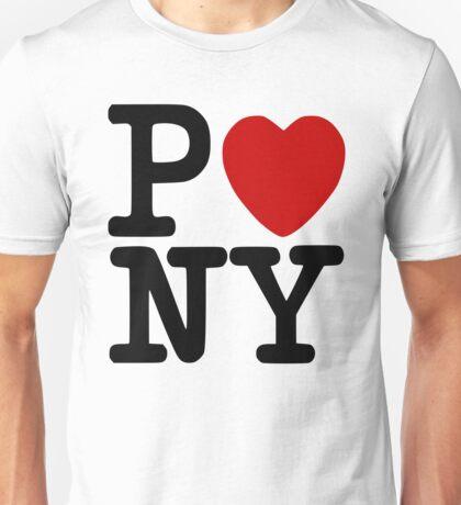 P<3NY - I Heart Pony Unisex T-Shirt