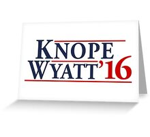 Leslie Knope for President! Greeting Card