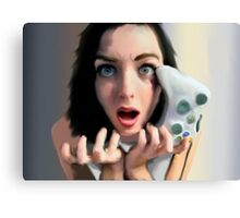 Girls Game Rage, Too Canvas Print