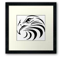 Eagle Face Framed Print