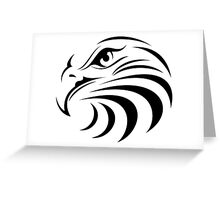 Eagle Face Greeting Card