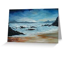 Roaring water Bay Greeting Card