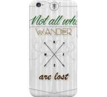 Tolkien Aragorn Quote iPhone Case/Skin