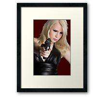 Girls With Guns Framed Print