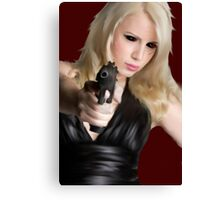 Girls With Guns Canvas Print
