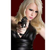 Girls With Guns Photographic Print