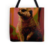 Meerkat print Tote Bag