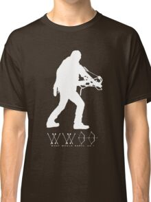 What Would Daryl Do ? white print Classic T-Shirt