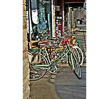 Bikes For Sale Photographic Print
