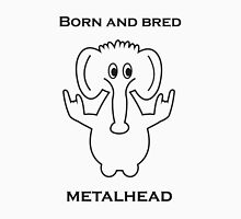 Born and Bred Metalhead logo Unisex T-Shirt