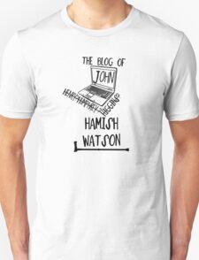 John H. Watson /on light colours/ Unisex T-Shirt