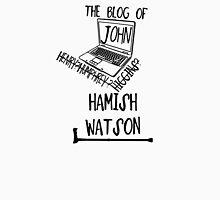 John H. Watson /on light colours/ Womens Fitted T-Shirt