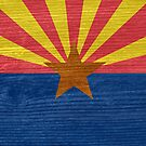 Arizona State Flag by Gordon  Beck