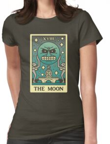 MAJORAS TAROT Womens Fitted T-Shirt