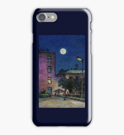 Town. Evening iPhone Case/Skin