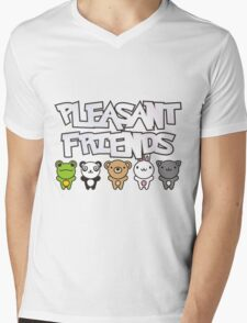 Pleasant_Animals Mens V-Neck T-Shirt