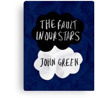 TFIOS Cover 2 Canvas Print