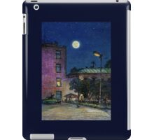 Town. Evening iPad Case/Skin