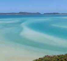 Whitehaven Beach Calendar 1 January by Gotcha29