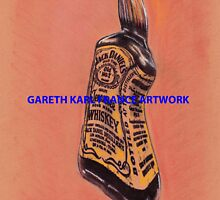 Jack Daniels Dali style A3 print by garethfrance