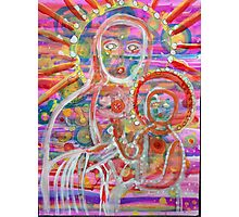 Cosmic Mother Mary Photographic Print