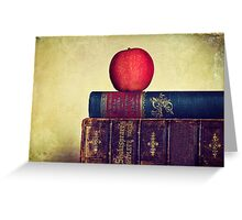 Books Greeting Card