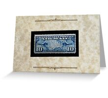 The Air Mail Series of 1926-27 - Greeting Card