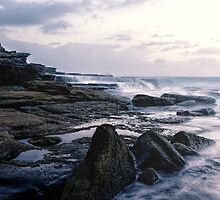 Maroubra Rock Ledges by yolanda